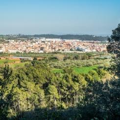 view over Caldes de Montbui
