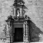 Santa Maria Caldes de Montbui - baroque entrance